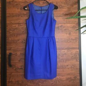 J Crew Blue Dress 0 Pockets